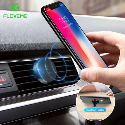 Magnetic Car Phone Holder For iPhone X 7 Plus