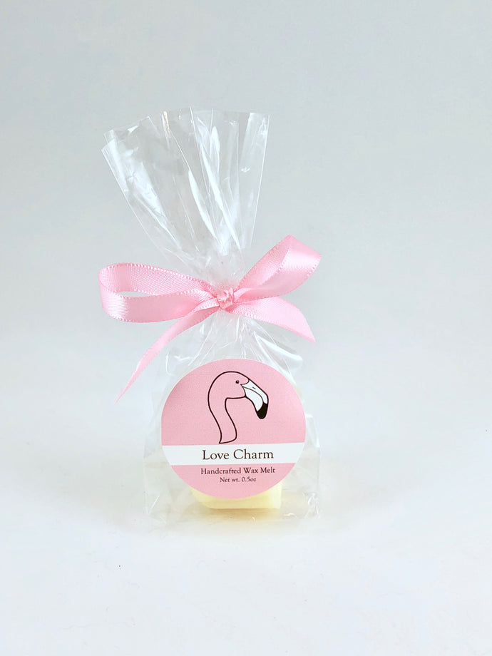 Flamingo Conservation Wax Melts  |  Love Charm Scent