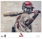 """Molina"" - Officially Licensed MLB Print"