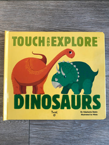 Touch and Explore Dinosaurs Book