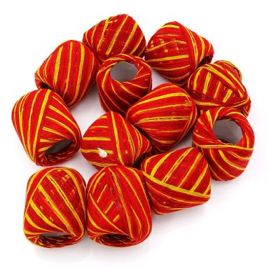 Holy Hindu Religious Mauli (Red mauli Pack of 10)