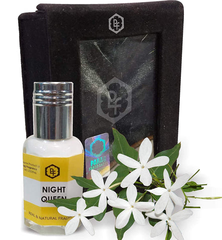 Night Queen Fragrances 12ml Real & Natural Attar
