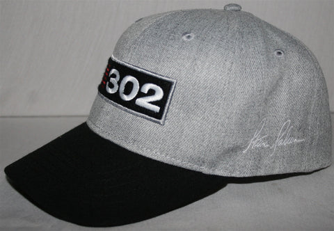 Saleen 302 Grey Embroidered Hat