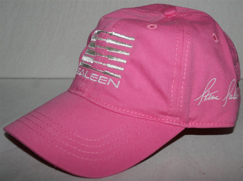 Saleen Womens Embroidered Pink Hat