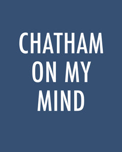 Chatham On My Mind - Color Pop Print