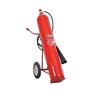 Wheeled Carbon Dioxide (CO2) Fire Extinguisher