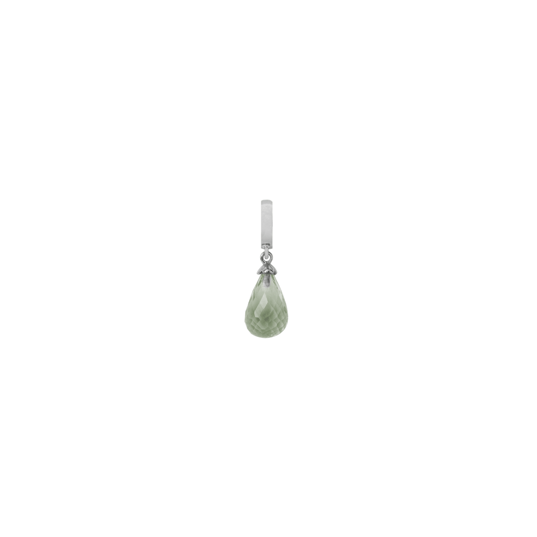 Christina Collect Silver Green Amethyst Drop