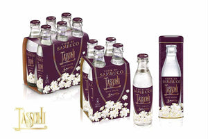 "Tassoni "" Fior di Sambuco"" Italian Elderflower Soda 6-Pack"