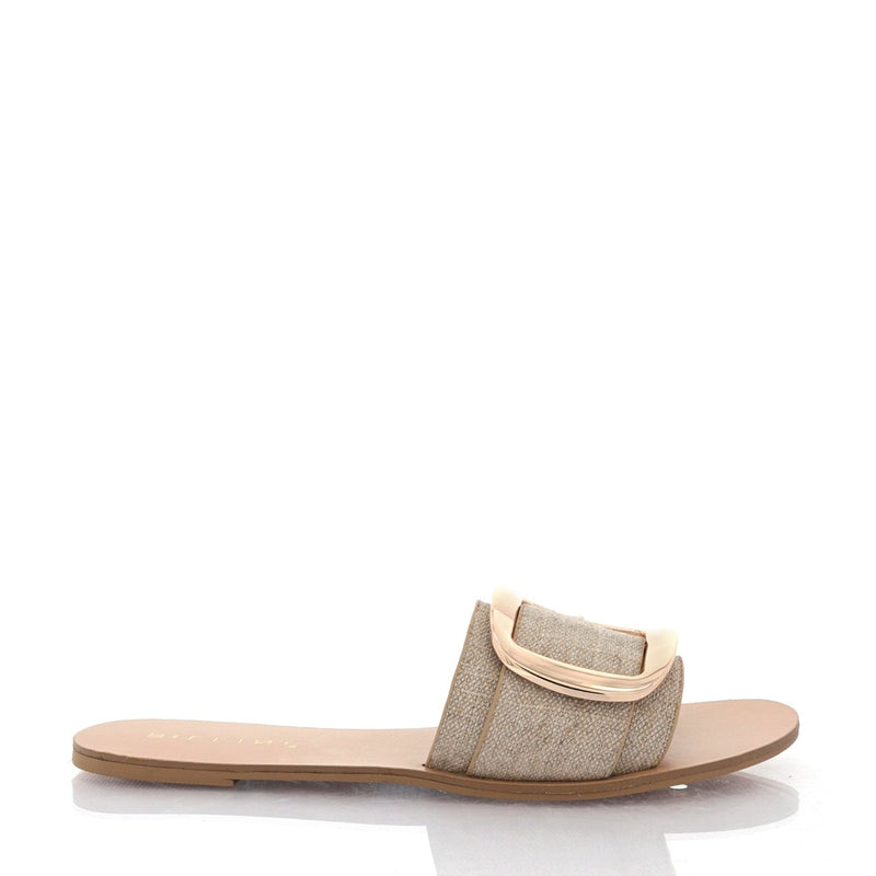 Billini Cayo Slide - Natural Linen