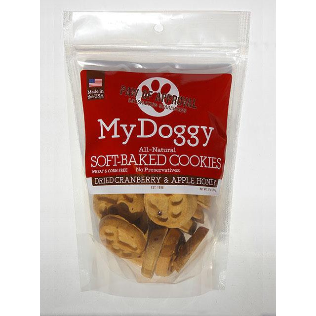 My Doggy Cranberry and Apple Soft-Baked Cookies