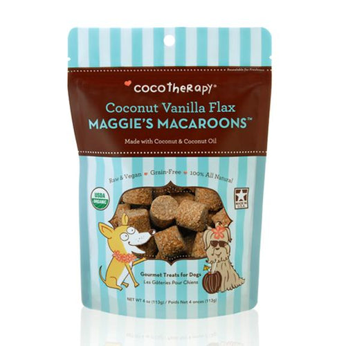 Coco Therapy Maggie's Macaroons Coconut Vanilla Flax