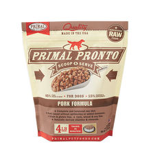 Load image into Gallery viewer, Primal Pet Foods Pronto Raw Frozen Canine Pork Formula