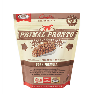 Primal Pet Foods Pronto Raw Frozen Canine Pork Formula