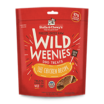 Stella and Chewy's Wild Weenies Cage-Free Chicken Treats