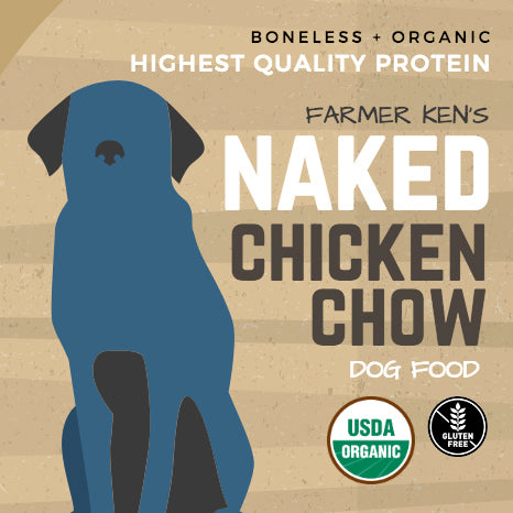 Farmer Ken's Naked Chicken Chow with Organic Brown Rice