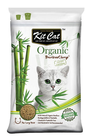 KIT CAT ORGANIC BAMBOO LITTER 11KG