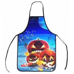 Halloween Kitchen Funny Portable Anti-Oil Apron