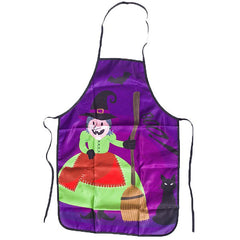 Halloween Portable Kitchen Funny Anti-Oil Apron