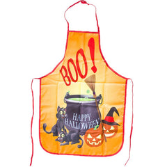 Halloween Kitchen Portable Funny Anti-Oil Apron