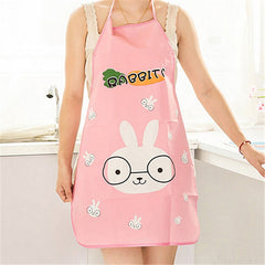 Beautiful cartoon waterproof apron