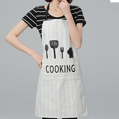 Adjustable waterproof apron