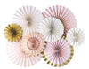 Princess Party Fans (Pack of 8)