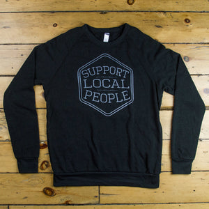 Support Local People Crewneck