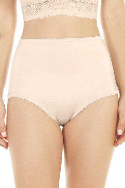 Lace Trim Brief - Nude / S - Intimates