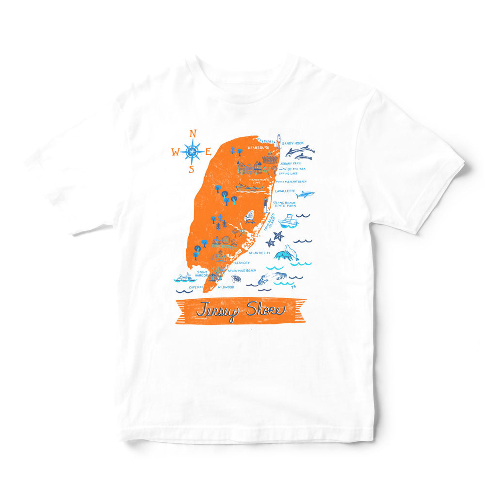 Jersey Shore T Shirt-Eco Friendly Print DTG