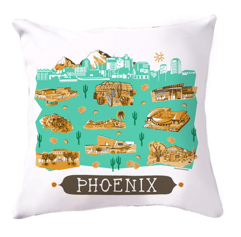 Phoenix Pillow Cover-16 x 16