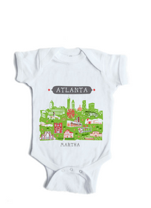 Boston MA Baby Onesie-Personalized Baby Gift