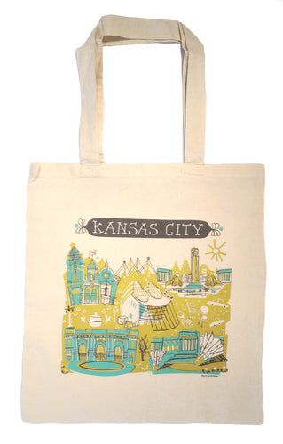 Kansas City Tote Bag-Wedding Welcome Tote