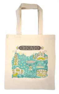 Chicago Tote Bag-Wedding Welcome Tote