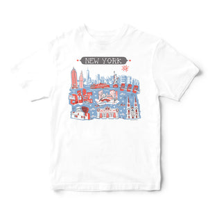 New York City T Shirt-Eco Friendly Print DTG