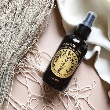 Canyon Sun- Mugwort and Sage Body Oil