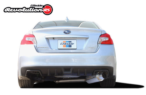 Greddy Revolution RS Exhaust - WRX / STI (15-Up)