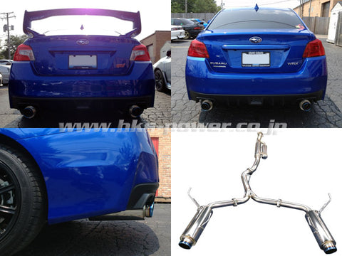 HKS Hi-Power Catback Exhaust - WRX/STI (15-Up)
