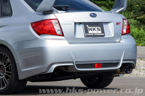 HKS Hi-Power Catback Exhaust - WRX Sedan (11-14)