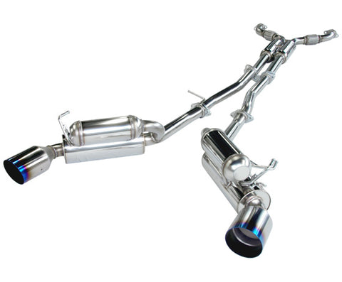 HKS Full Dual Hi-Power Catback Exhaust - G35 Coupe (03-06)
