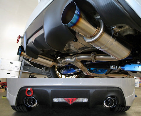 HKS Hi-Power Spec-L Catback Exhaust - BRZ/FRS/GT86 (13-Up)
