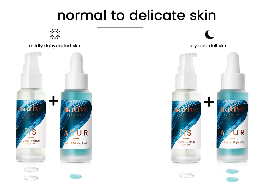normal to delicate skin