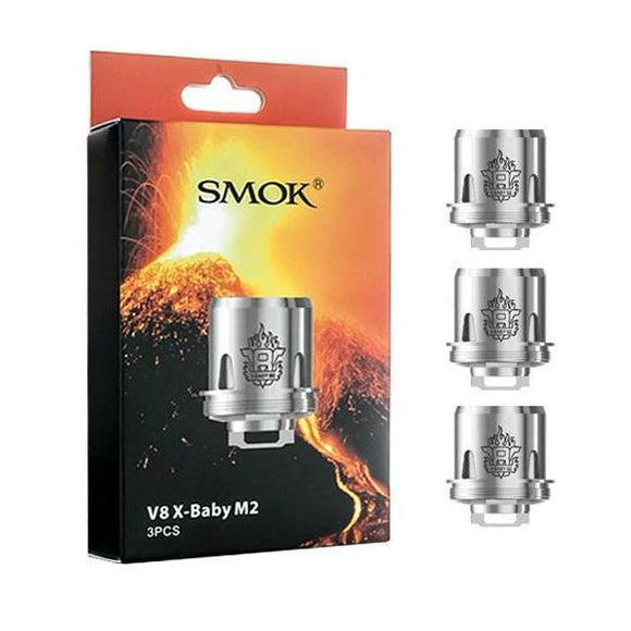 TFV8 X-Baby M2 Dual Core 0.25 ohm Replacement Coils - 3-Pack - vayyip