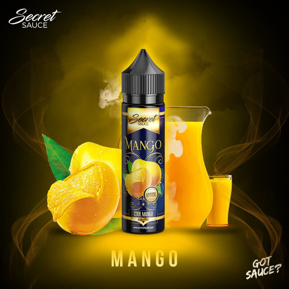 Mango by Secret Sauce E-Liquids – 60ml – 3mg Nic. - vayyip