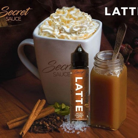 LATTE BY SECRET SAUCE ejuice-60ml - vayyip