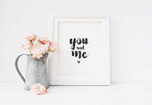 FineArt Print A4 - You & me