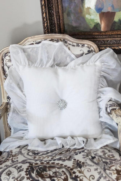 Beautiful Brooch Pillow