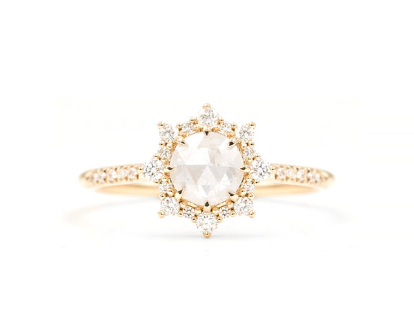 0.93-Carat Icy Grey Diamond Sienna Ring (in stock)