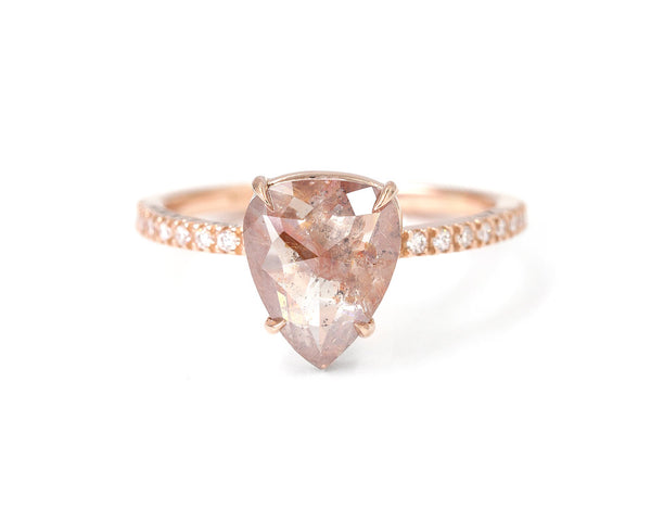 Everett Fine Jewelry 1.65-Carat Rustic Rose Cut Diamond Ring