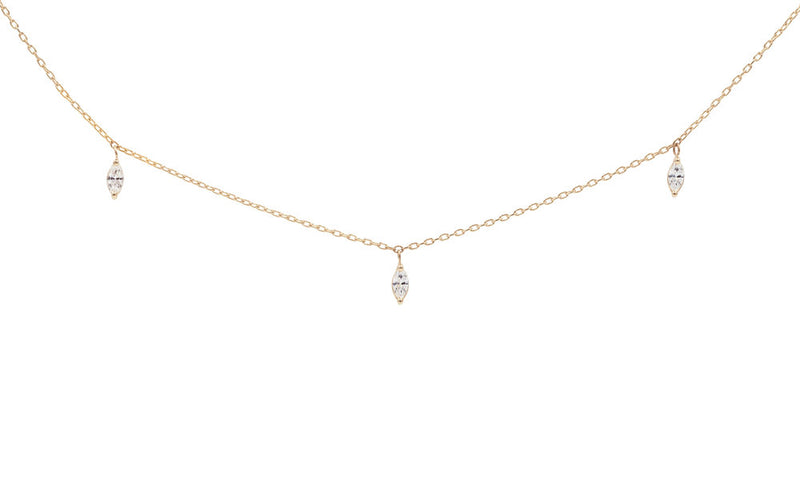 Everett Fine Jewelry Iris Diamond Necklace