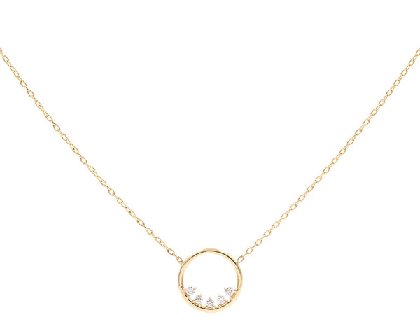 Everett Fine Jewelry Dorado Diamond Necklace